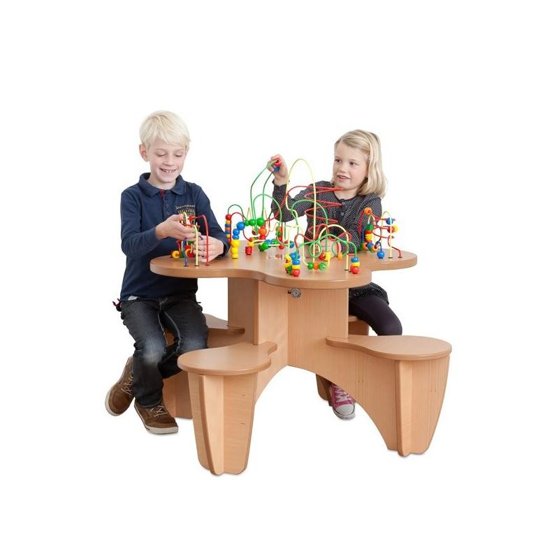 Boulier looping table chair & play corner