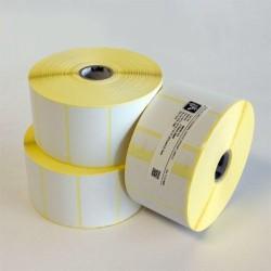 Étiquette thermique 33x16,5mm adhésif permanent en rouleaux de 2000