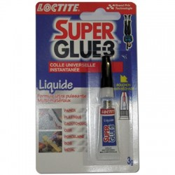 Colle super glue 3g