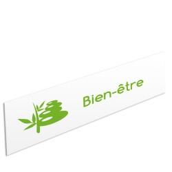 """Bandeau d'ambiance Bien-être - Illustration """"plantes"""""""