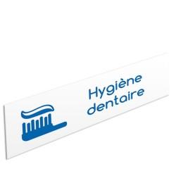 "Bandeau d'ambiance Hygiène dentaire - Illustration ""dentifrice"""