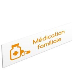 """Bandeau d'ambiance Médication familiale - Illustration """"médicaments"""""""