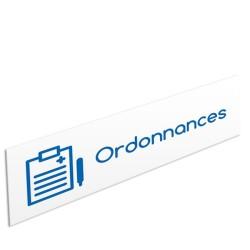 """Bandeau d'ambiance Ordonnances - Illustration """"bloc notes"""""""