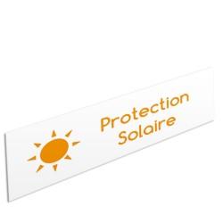 """Bandeau d'ambiance Protection Solaire - Illustration """"soleil"""""""