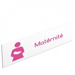 """Bandeau d'ambiance Maternité - Illustration """"maman et bébé"""""""