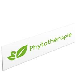 """Bandeau d'ambiance Phytothérapie - Illustration """"feuilles"""""""