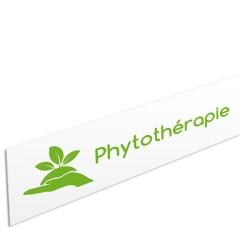 """Bandeau d'ambiance Phytothérapie - Illustration """"main"""""""