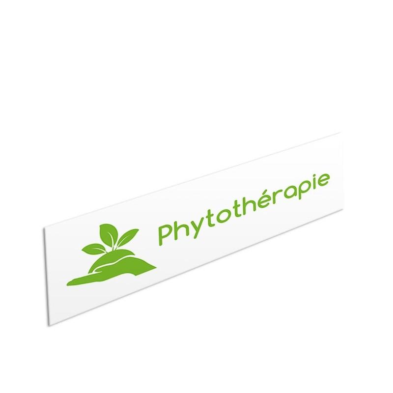 Tête de rayon Phytothérapie - Illustration standard par Pictographix