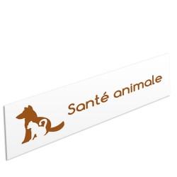 """Bandeau d'ambiance Santé animale - Illustration """"chien-chat"""""""
