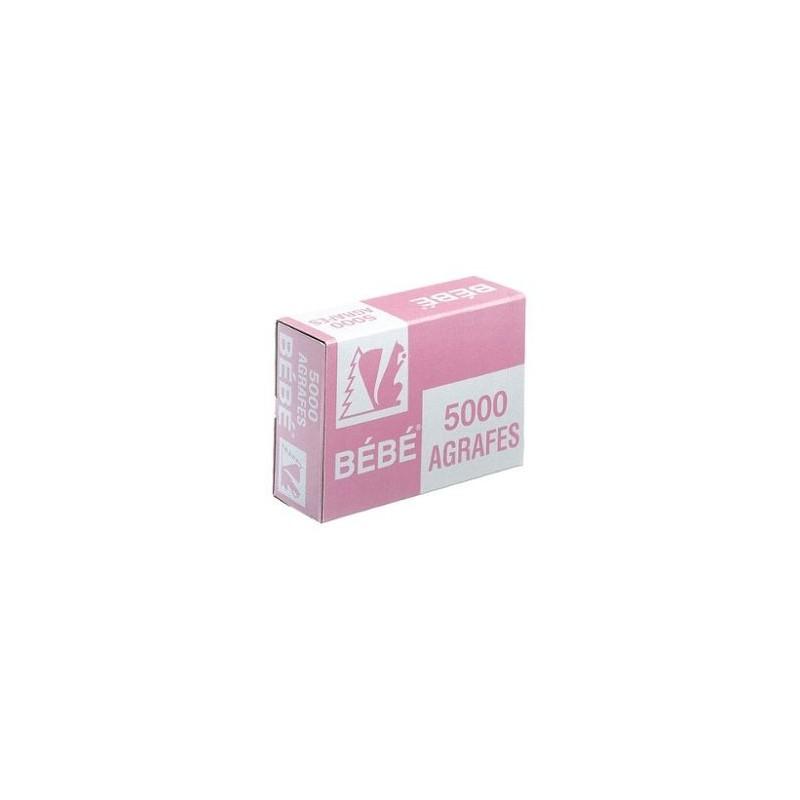 AGRAFE BB par 6 BOITES 5000