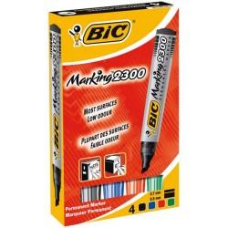 Marqueur Bic marking 2300 - Pointe Biseau