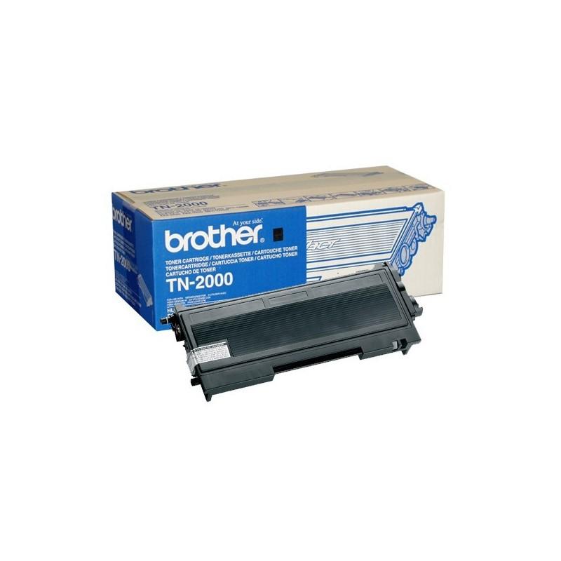 Original Brother Toner Tn2000 2500 Pages
