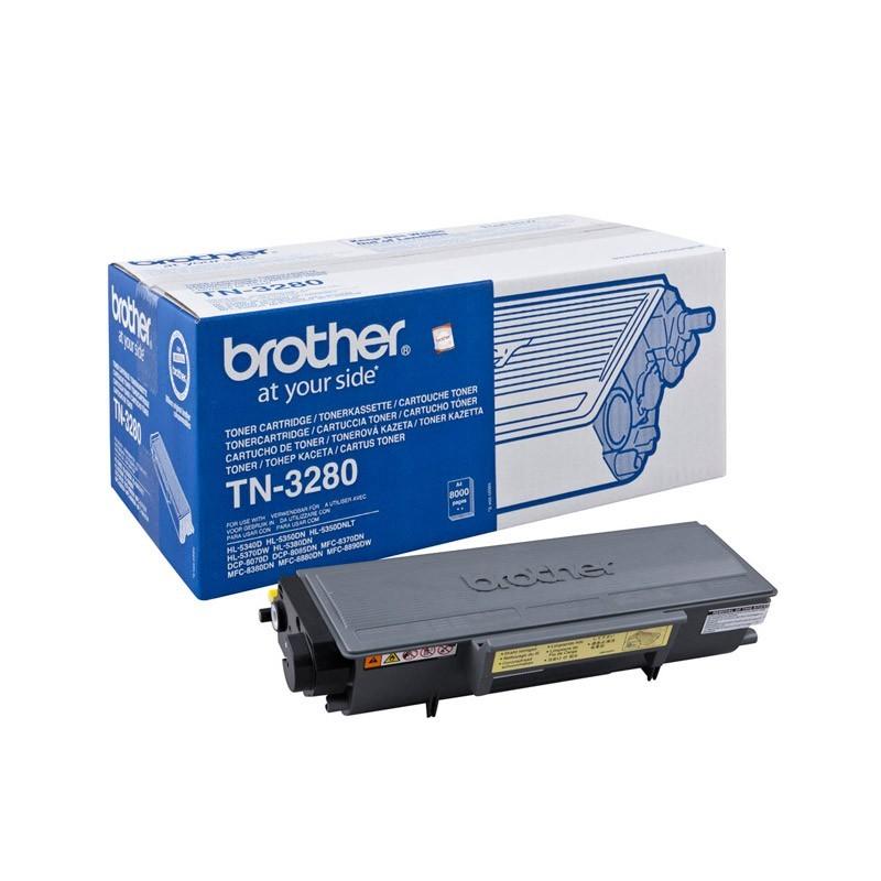 Original Brother Toner Tn3280 8000 Pages
