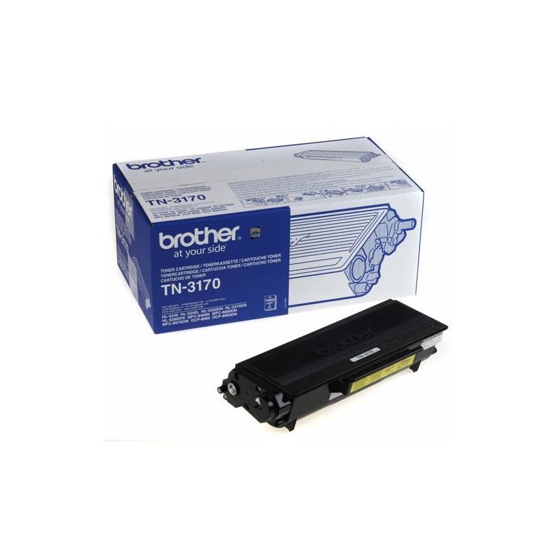 Original Brother Toner Tn3170 7000 Pages
