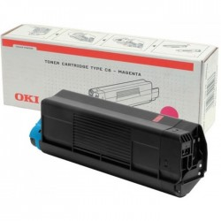 Toner OKI C5100/5200/5300/5400 5000pages OEM 42127406 | Magenta