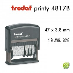 Dateur Trodat Printy 4817B, jour en entier (47x3,8mm)