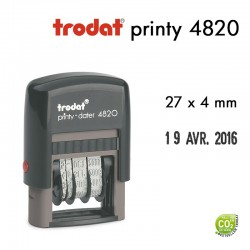 Dateur Trodat Printy 4820, (27x4mm)