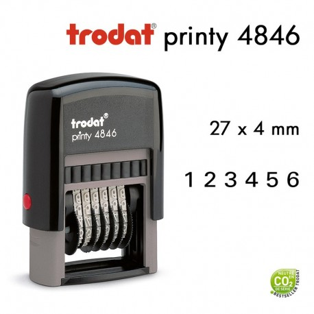 NUMEROTEUR PRINTY 4846 27*4MM
