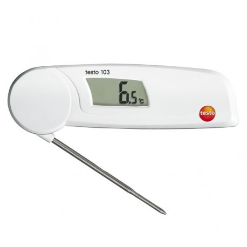 Thermomètre repliable à sonde