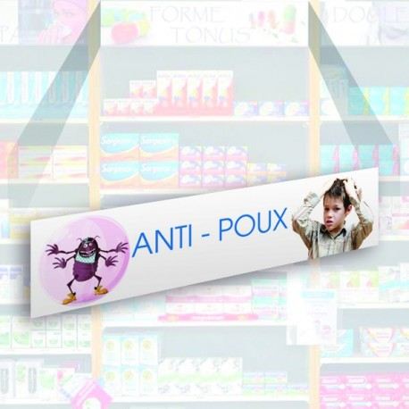 Bandeau d'habillage illustré - Anti-poux