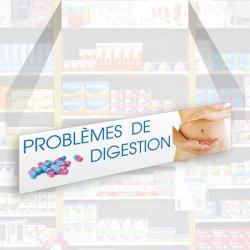 Bandeau d'habillage illustré - Problèmes de digestion