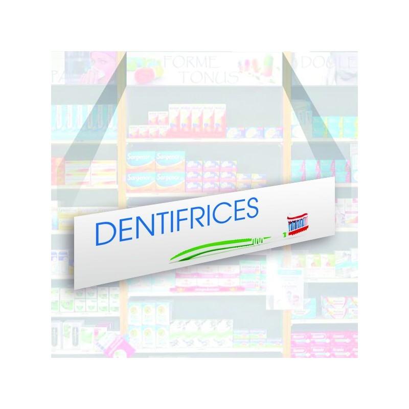 Bandeau d'habillage illustré - Dentifrices