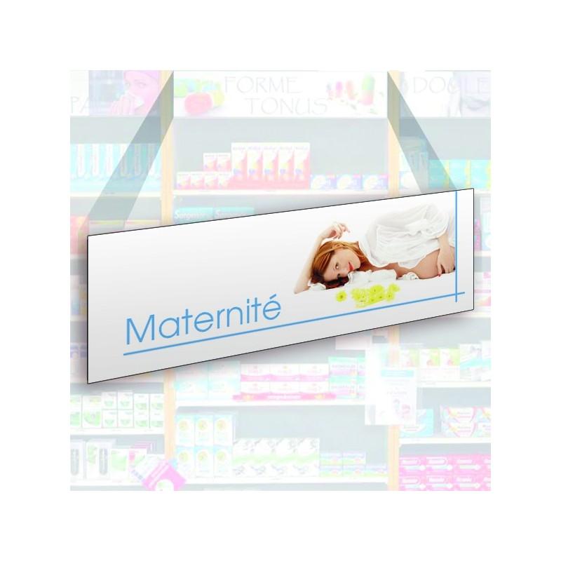 Bandeau d'habillage illustré - Maternité