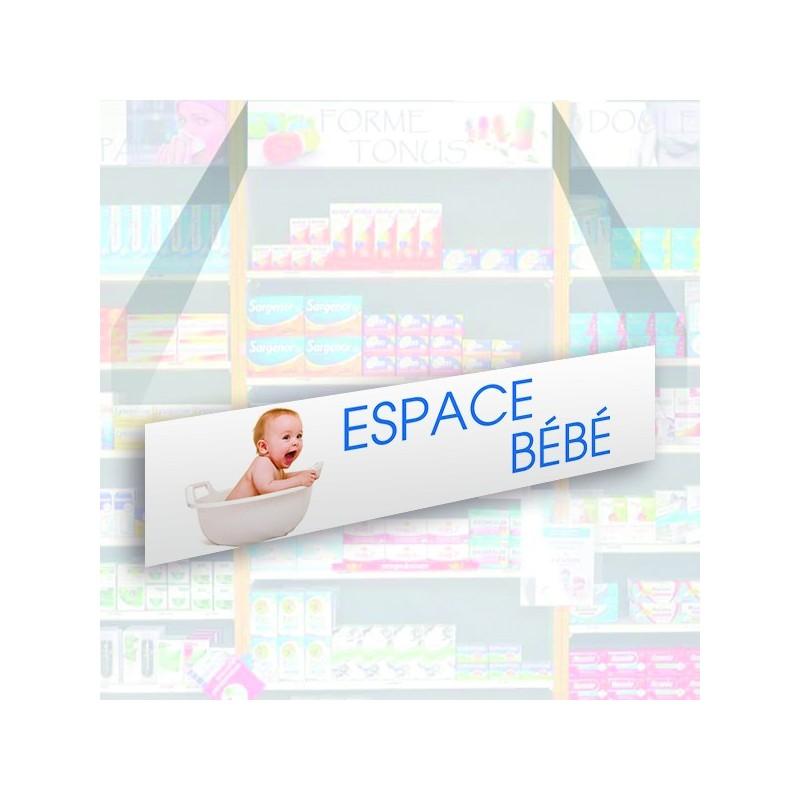 Bandeau d'habillage illustré - Espace bébé