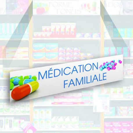 Bandeau d'habillage illustré - Médication familiale