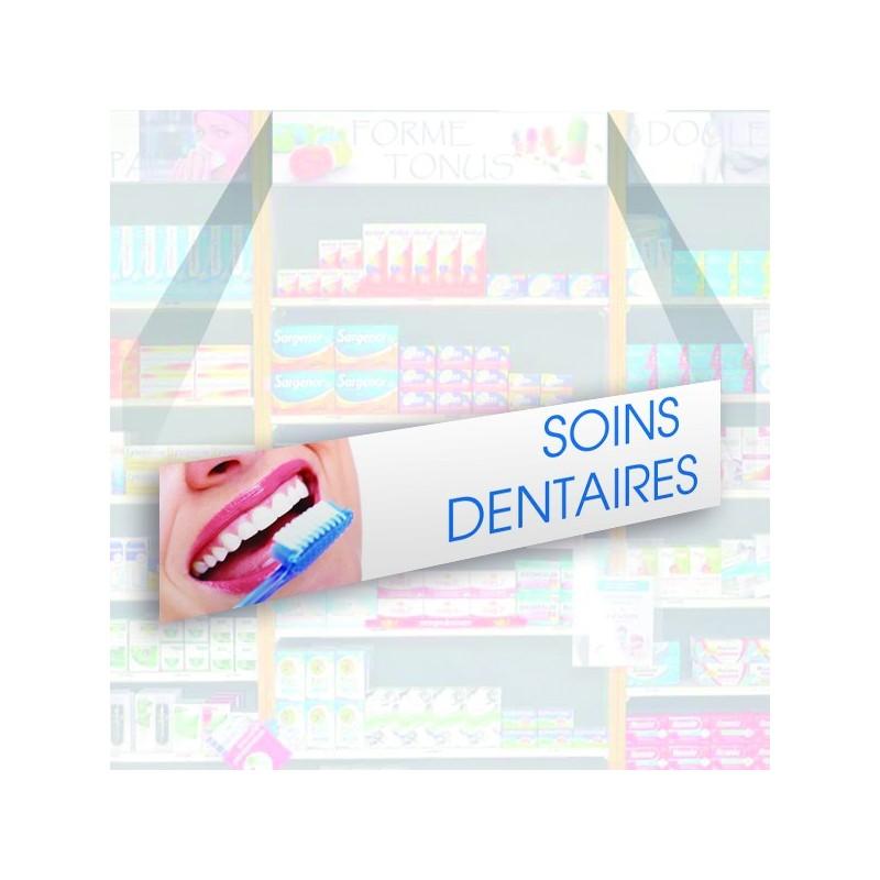 Bandeau d'habillage illustré - Soins dentaires