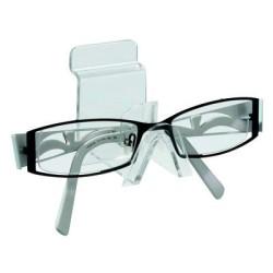 Support à lunettes pour panneau rainuré