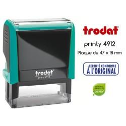 Tampon Trodat Xprint, CERTIFIE CONFORME