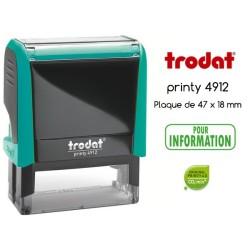 Tampon Trodat Xprint, POUR INFORMATION