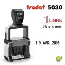 Dateur Trodat Métal line 5030, 1 ligne, (26x4mm)