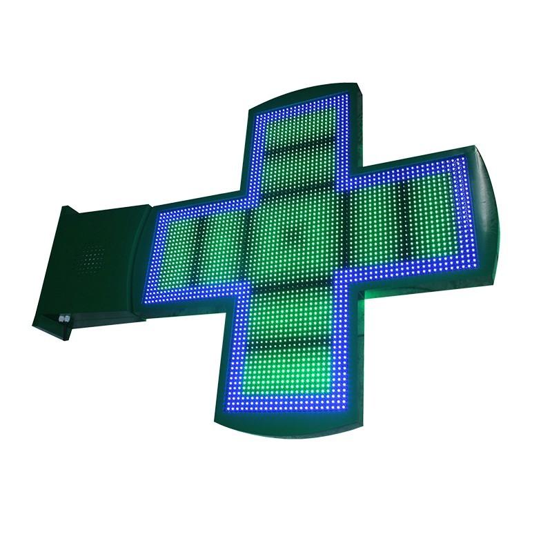 Croix à diodes HD double face