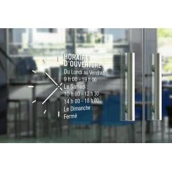 Stickers horaires adhésifs - Cadrant