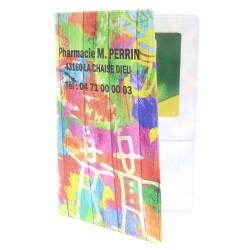 Garde ordonnance quadri - Peinture multicolore