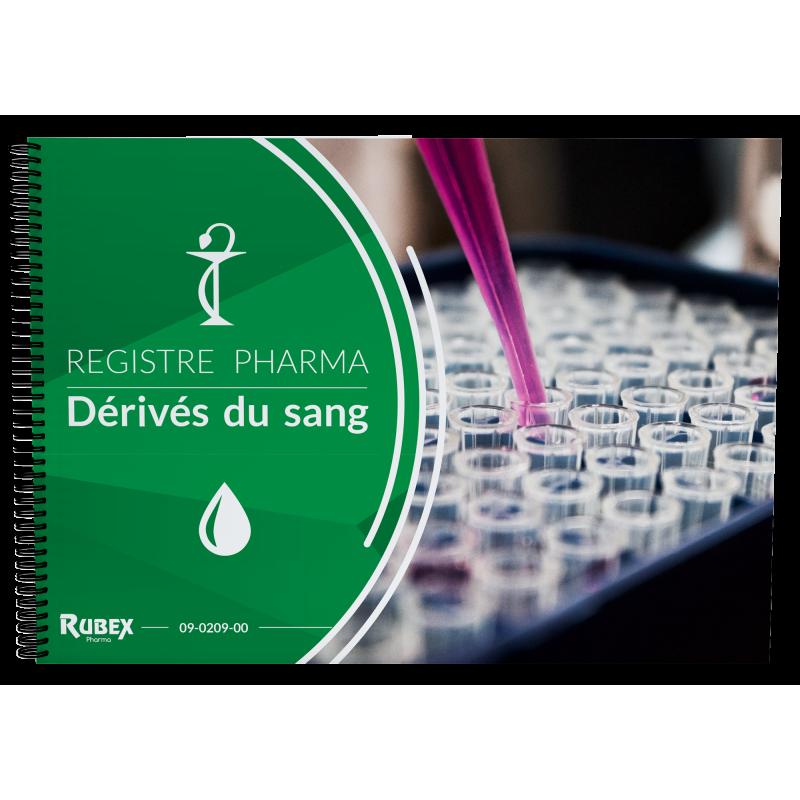 Registre des médicaments dérivés du sang - Spécial officines de pharmacie