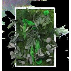 Cadre végétal petit portrait - 50x65 cm