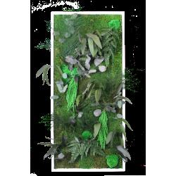 Cadre végétal grand portrait - 50x100 cm