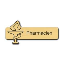 Badge Pharmacien avec caducée