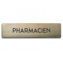 Badge Pharmacien rectangulaire