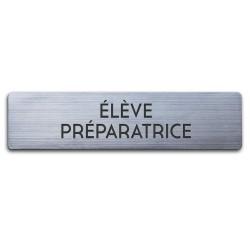 Badge Élève préparatrice rectangulaire