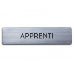 Badge Apprenti rectangulaire