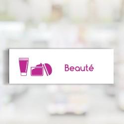 """Bandeau d'ambiance Beauté - Illustration """"crème"""""""