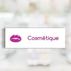 """Bandeau d'ambiance Cosmétique - Illustration """"lèvres"""""""