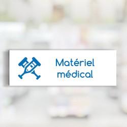 """Bandeau d'ambiance Matériel médical - Illustration """"seringue"""""""