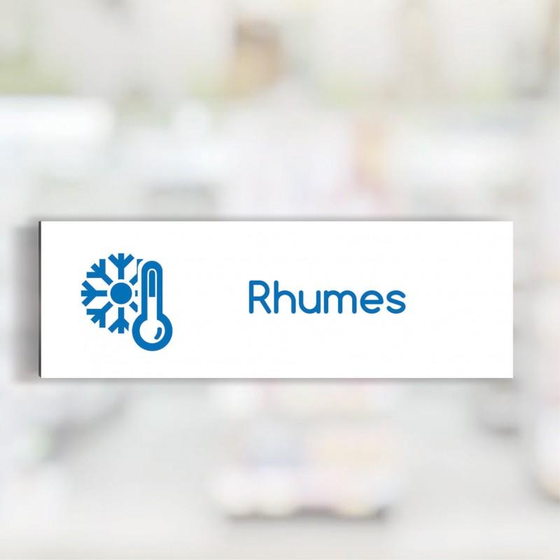 Tête de rayon Rhumes - Illustration standard par Pictographix