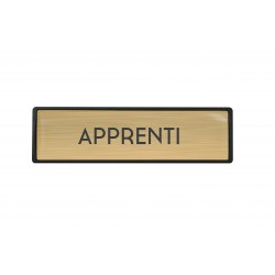 Badge luxe Apprenti