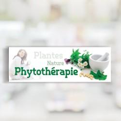 Bandeau d'ambiance Phytothérapie - Illustration standard par Photomatix